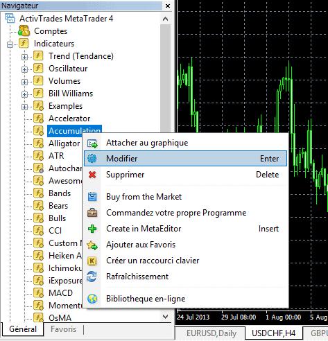 Compiler un indicateur ou un EA