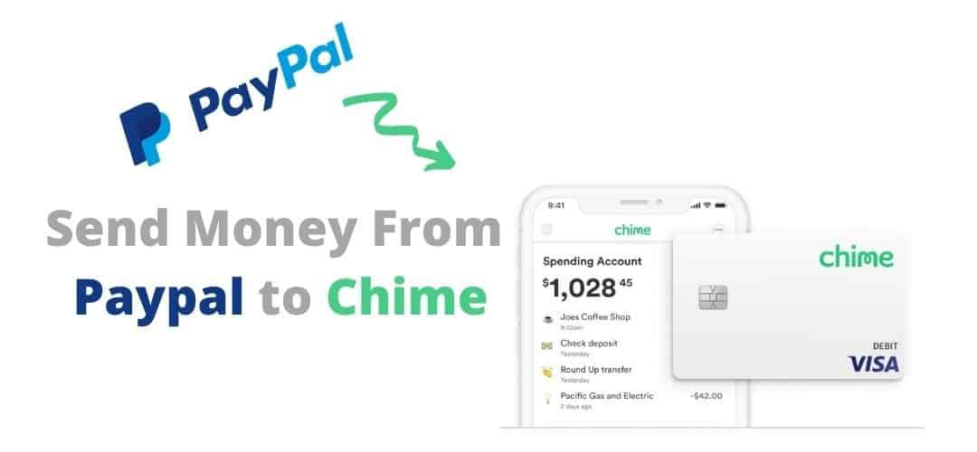 send money from paypal to chime