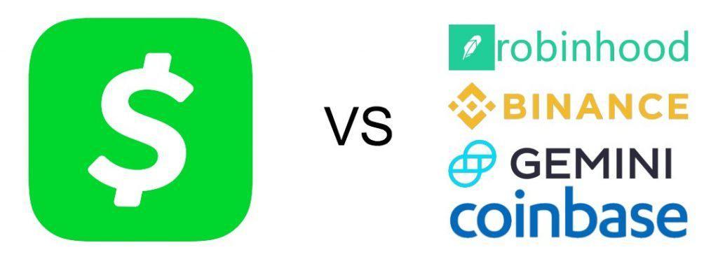cash app vs exchange