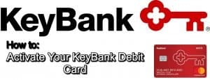activate a keybank debit card