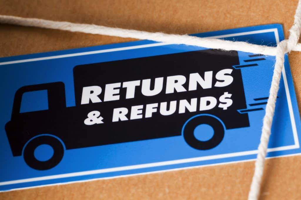 returns on merchandise