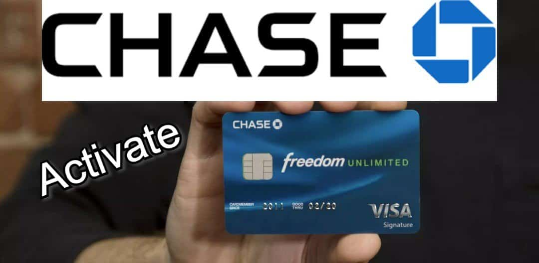 Activate chase freedom credit card