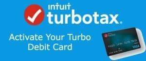Turbo debit card activate