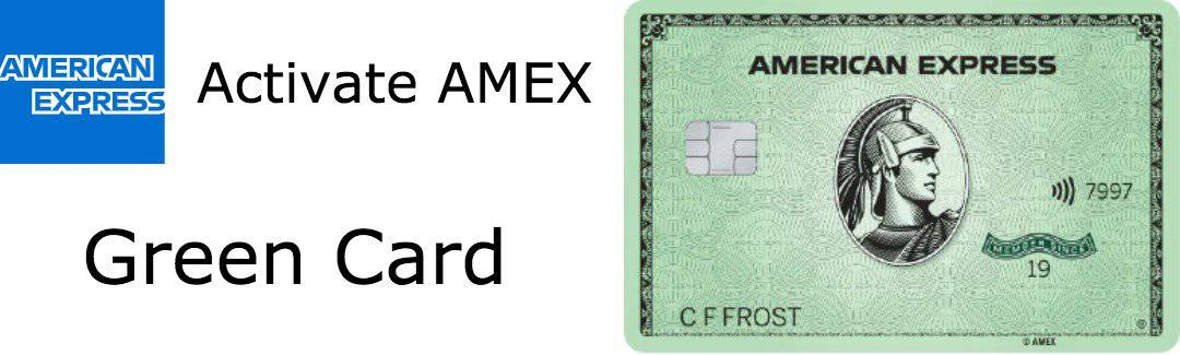 activate amex green card