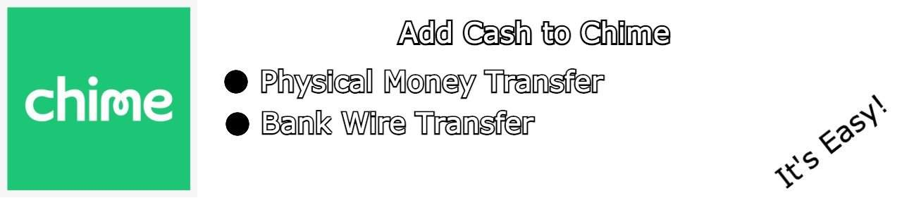 add cash to Chime