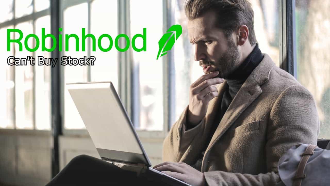 can't buy stock robinhood