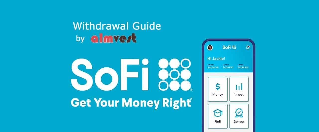how to withdraw money from sofi