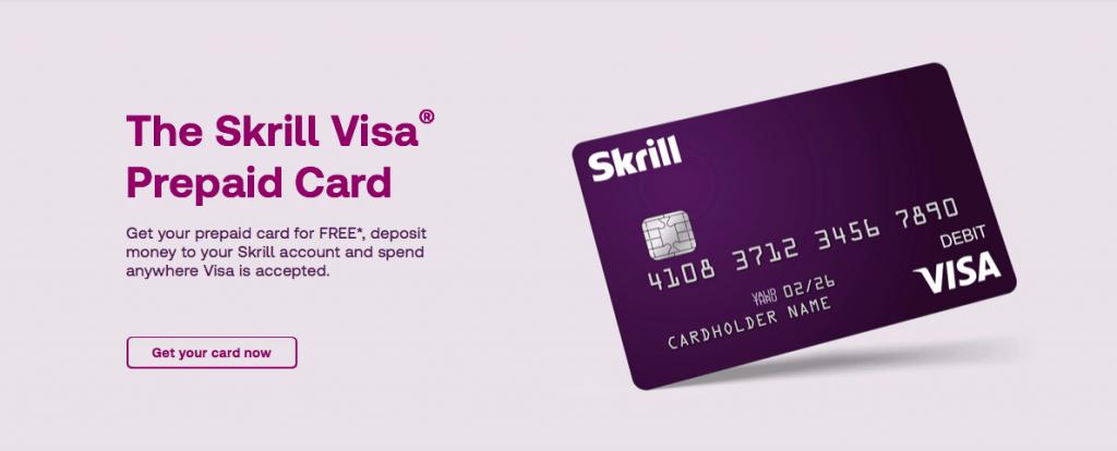 Skrill withdrawal to Visa