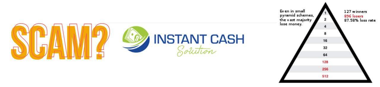 Instant cash solution scam