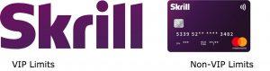 skrill prepaid limits