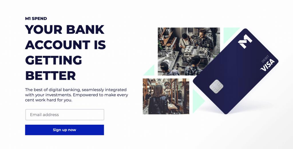 M1 Finance Debit Card Metal