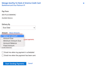 Bank of America Credit Card 3