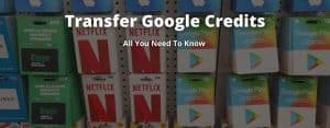 send Google credits