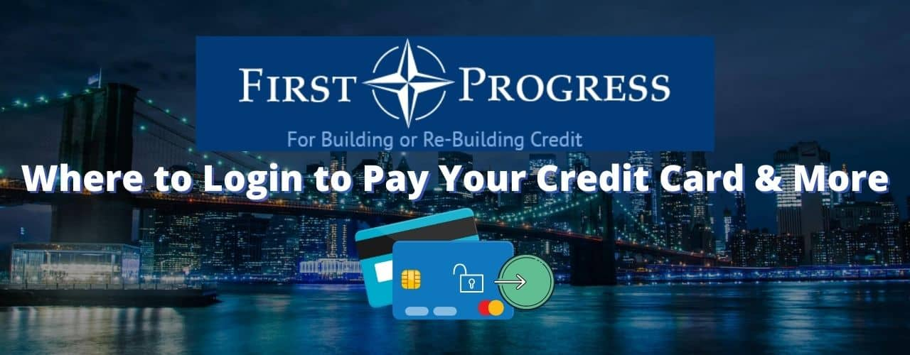 First progress login and payment