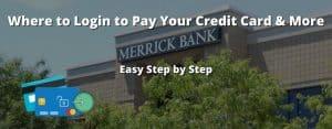 Merrick Bank login credit card