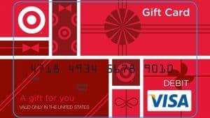 target visa gift card