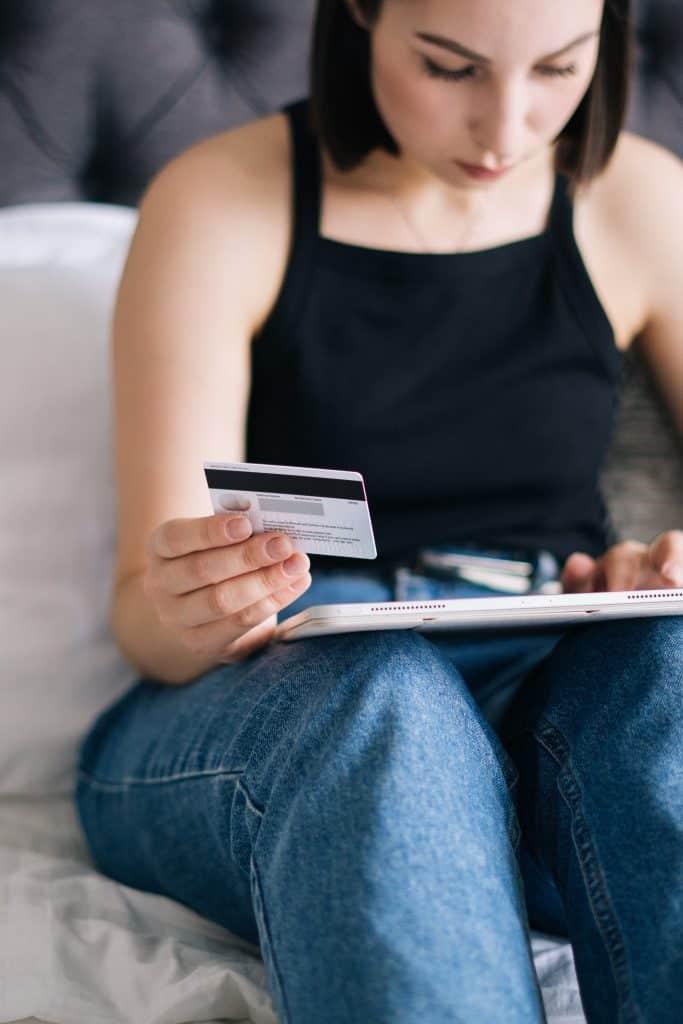 Preloading Credit Card