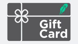 robinhood gift card
