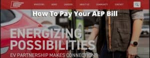 AEP payment bill