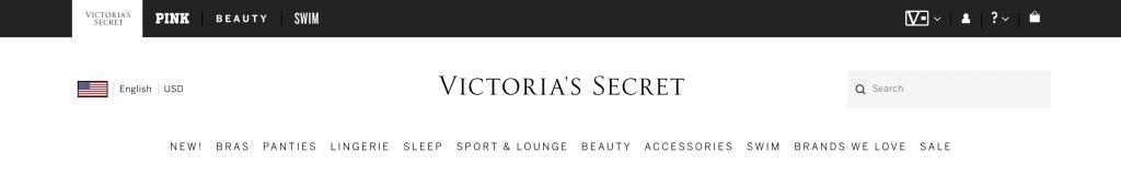 Victoria Secret login