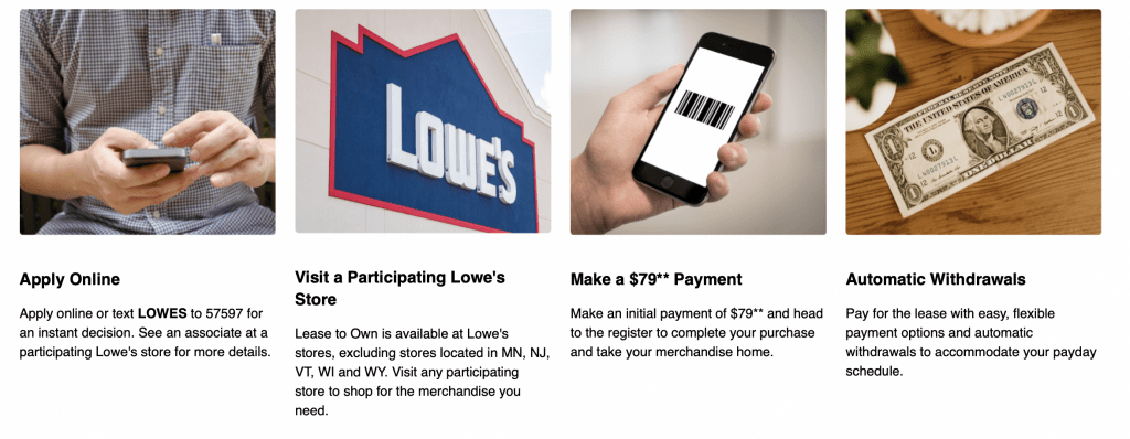 Lowe's Lease to Own