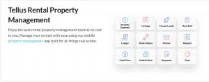 Tellus app property management and rentals