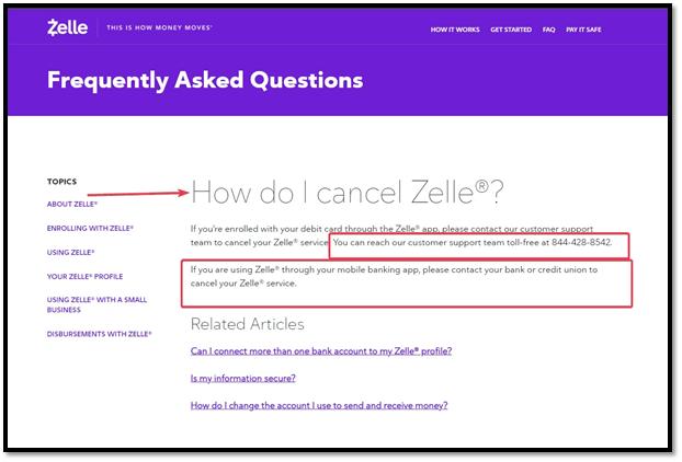 How To Delete My Zelle Account
